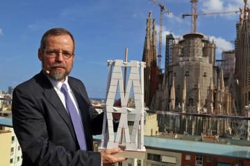 Barcelona. Roda de premsa, Evolució de les obres de la Sagrada Familia a 10 anys de la seva finalització (2016-2026).