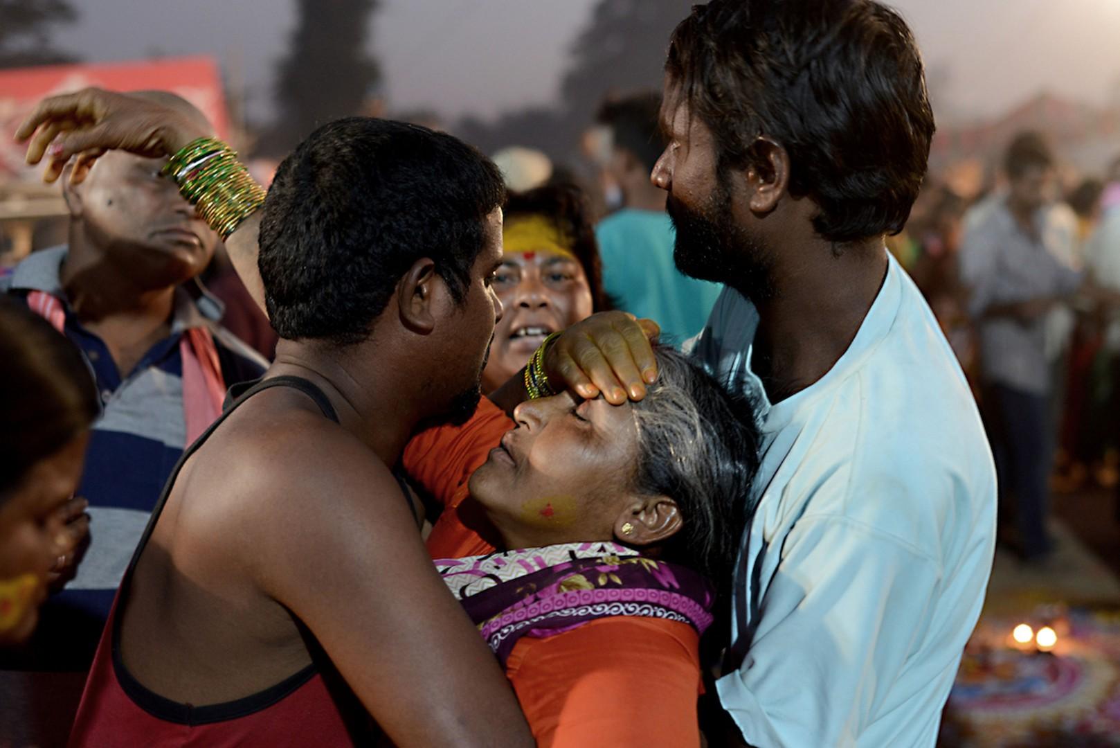 Il festival Sammakka Sarakka Jatara in India