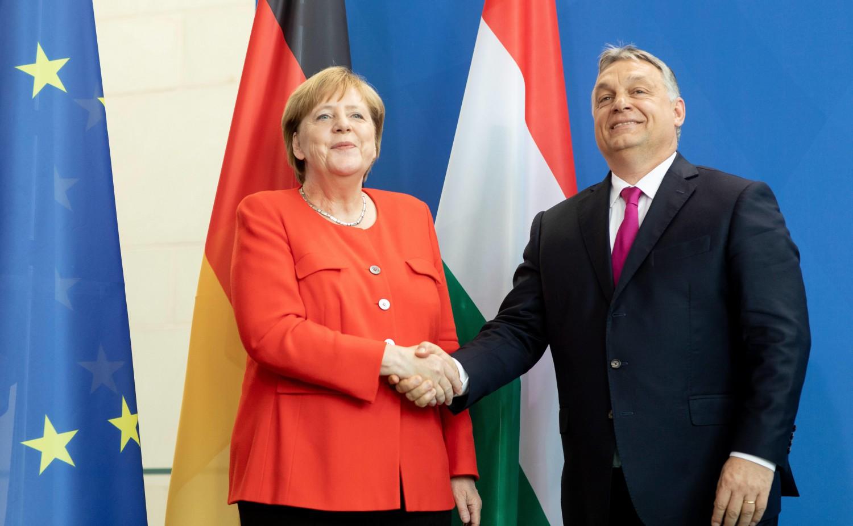 Merkel Orban