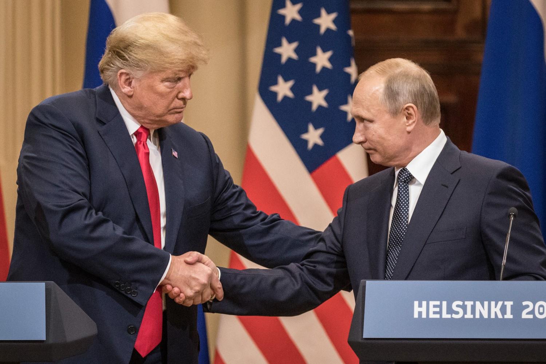 Putin Trump stretta mano