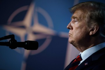 Trump Nato (LaPresse)