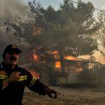 La Grecia divorata dal fuoco<br> e le lacrime ipocrite dell'Europa