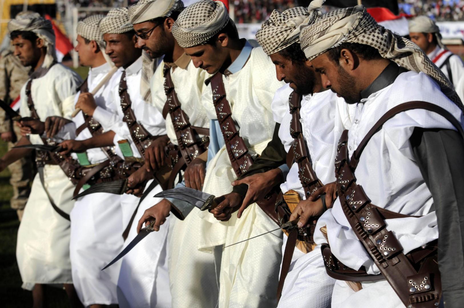Una celebrazione degli Houthi (LaPresse)