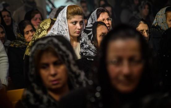 I cristiani in Siria (LaPresse)