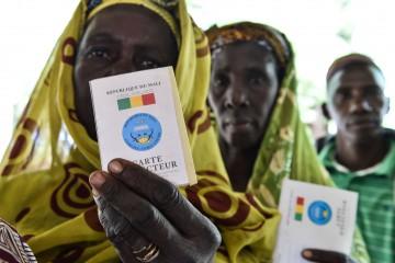 Primo turno delle elezioni presidenziali 2018 in Mali (LaPresse)