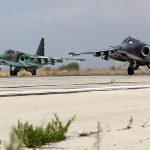 Continua la smobilitazione in Siria: <br>Mosca ritira anche i bombardieri Su-25