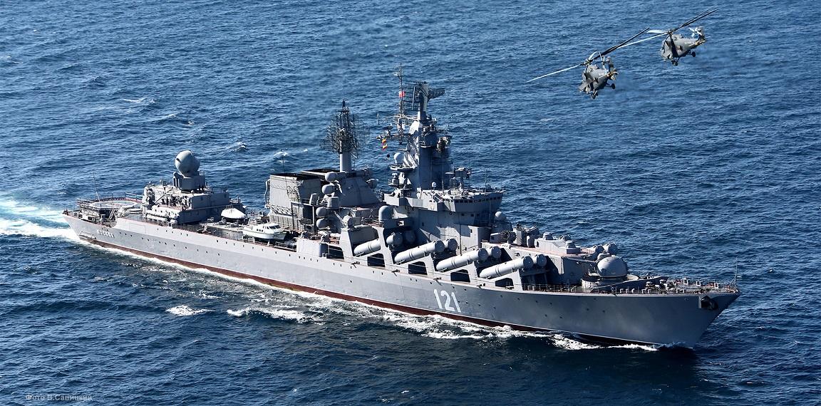 Nave russa lanciamissili