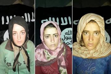 Le donne rapite dall'Isis a Sweida (Facebook)