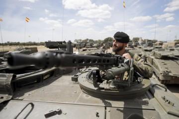 Esercito spagnolo (LaPresse)