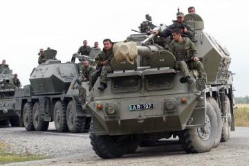 Guerra a Ossezia Georgia (LaPresse)