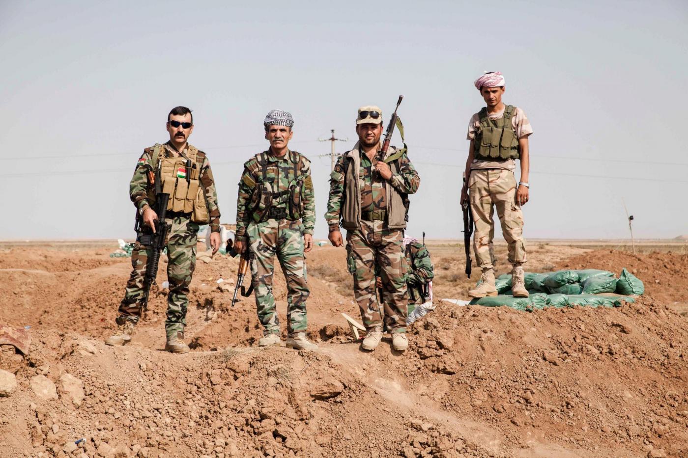 I curdi dello Ypg (LaPresse)