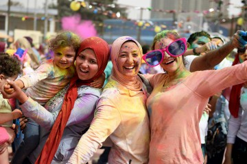 Delle donne in Egitto (LaPresse)