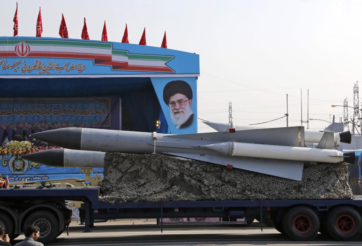 Iran, le celebrazioni per la giornata delle forze armate (LaPresse)