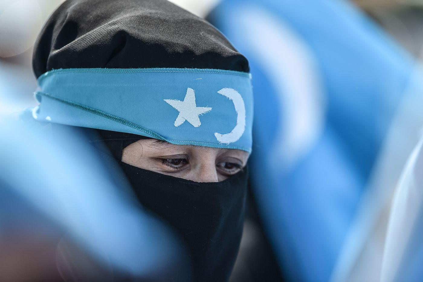 Turchia, proteste a Istanbul per gli uiguri (LaPresse)