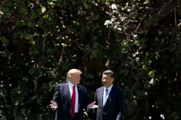 La guerra dell'economia tra Trump e Xi Jinping (LaPresse)