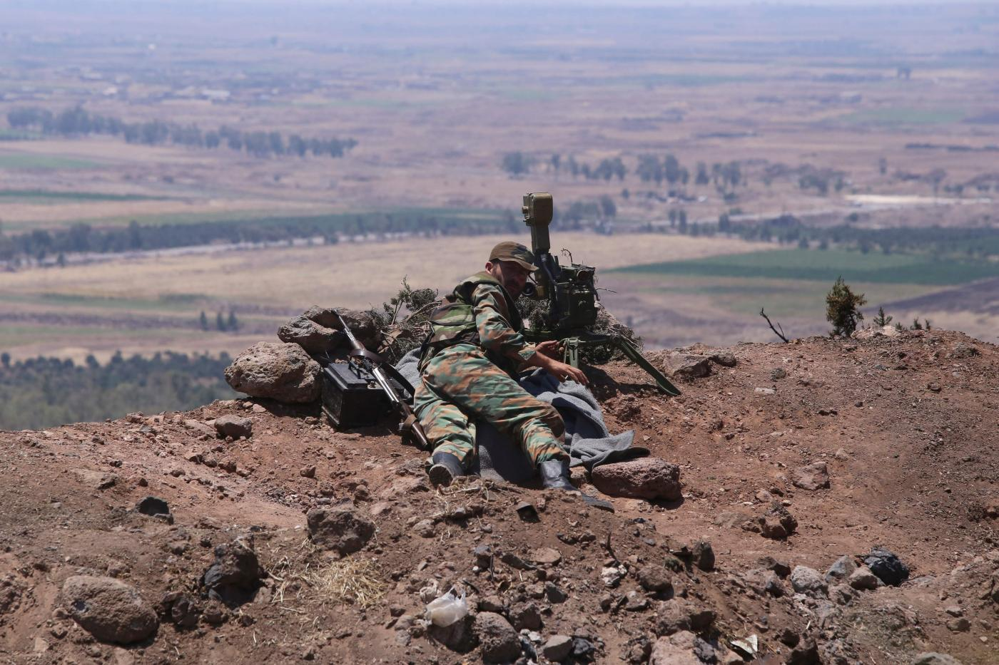 L'esercito siriano è pronto a riconquistare Idlib (LaPresse)