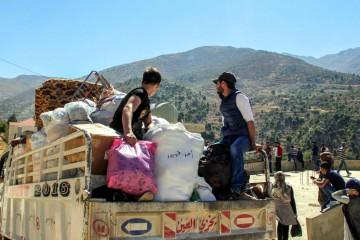 Quasi un milione di profughi sono pronti a tornare in Siria (LaPresse)