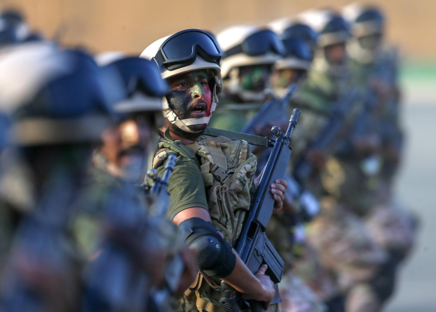 Forze di sicurezza schierate per l'Hajj (LaPresse)