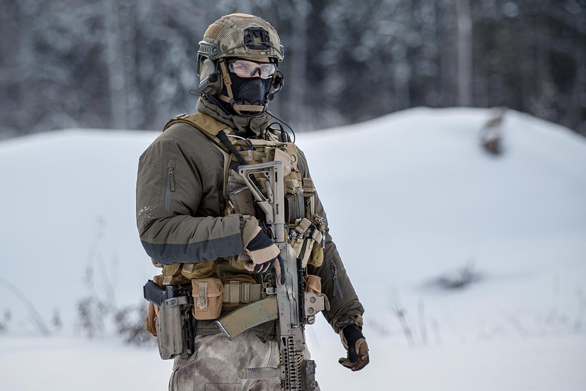 Un soldato delle forze speciali russe (Wikipedia)