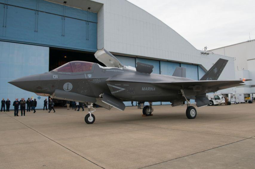Uno degli F-35 italiani (Wikipedia)