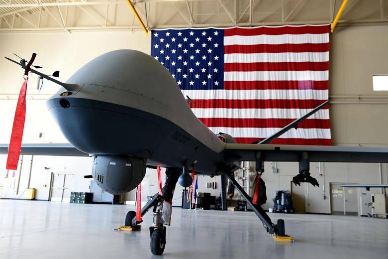 Drone americano (Davide Bartoccini)