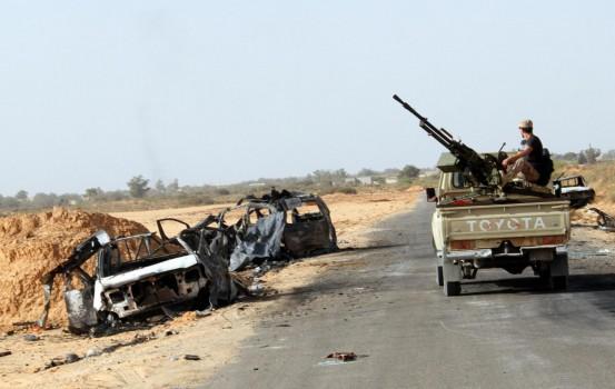 Le truppe che combattono in Libia (LaPresse)
