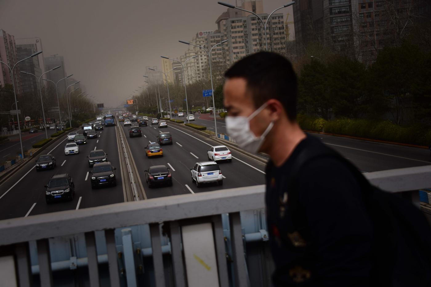 Inquinamento in Cina (LaPresse)