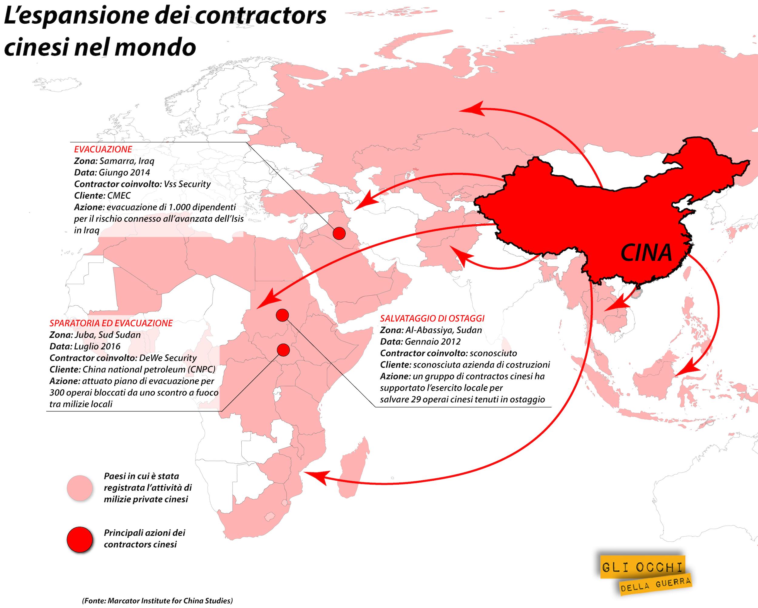 contractors della cina nel mondo