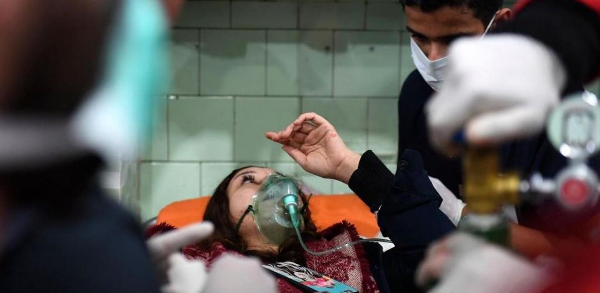 Attacco chimico ad Aleppo
