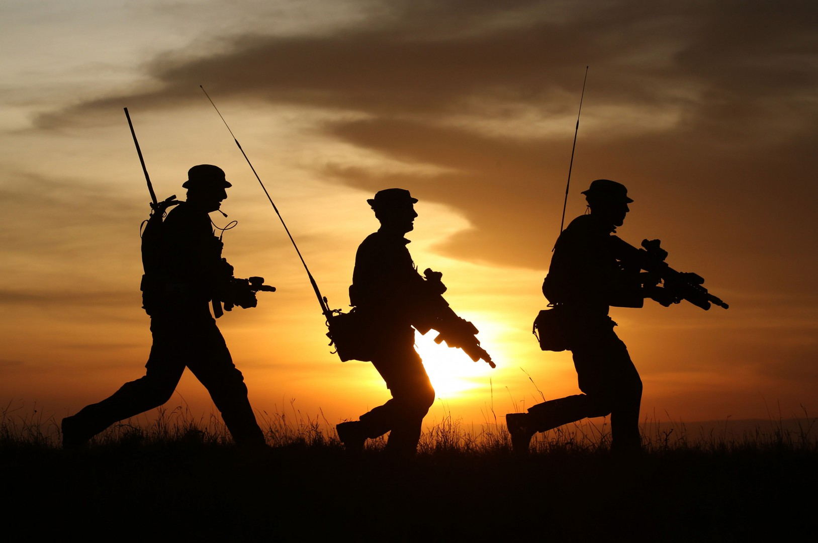 File photo dated 16/02/15 of British soldiers on patrol. The number of troops in the British Army has fallen again, new figures show, leaving it nearly 4,000 short of the Government's target. PRESS ASSOCIATION Photo. Issue date: Thursday May 18, 2017. See PA story POLITICS Troops. Photo credit should read: Andrew Milligan/PA Wire