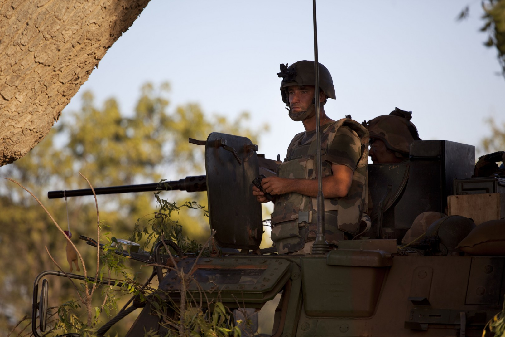 French Foreign Legion settled down has some kilometres in the North of the city of Markala (40km in the North of Segou on the road of Diabaly) in Mali, on January 18, 2013. Photo by Julien Tack/ABACAPRESS.COM     LaPresse  -- Only Italy