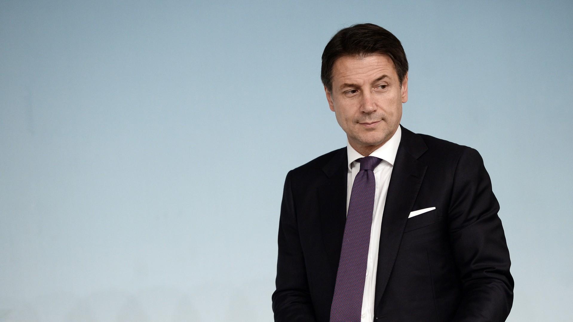Il presidente del Consiglio italiano, Giuseppe Conte (LaPresse)
