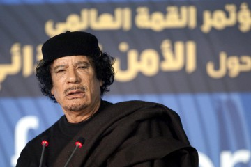 Muhammar Gheddafi (LaPresse)
