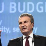 Oettinger getta la maschera<br> La Germania vuole dominare l'Ue