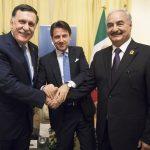 Conte blinda ancora la Libia: <br> nuovo incontro tra Al Sarraj ed Haftar