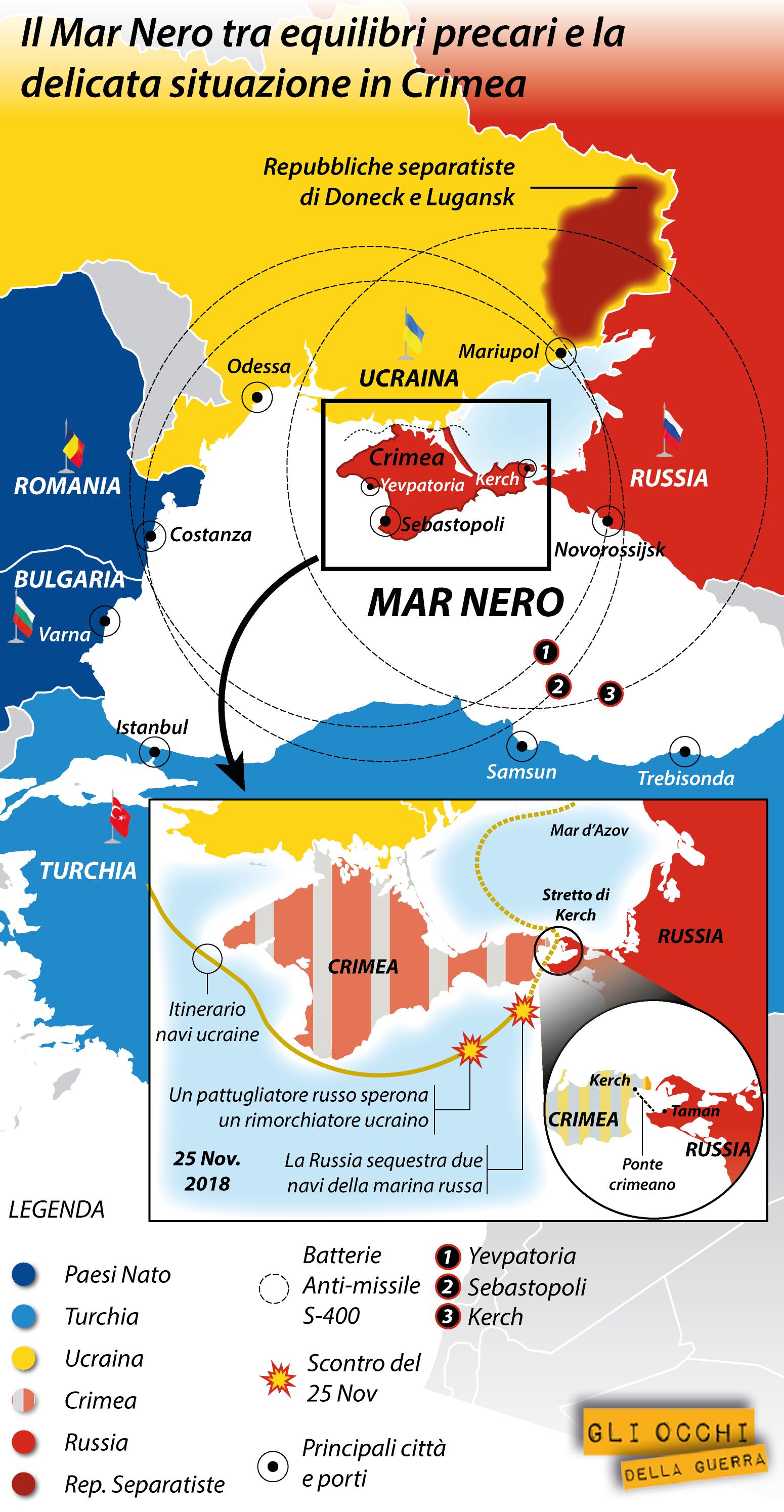 mar nero situazione ucraina russia 2