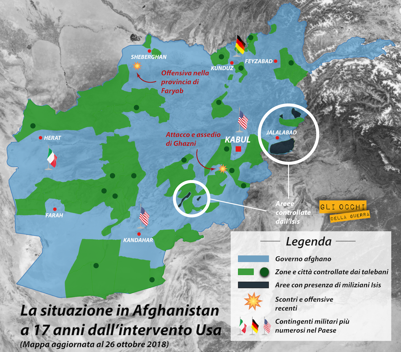 situazione in afghanistan