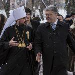 "L'Ucraina celebra Natale e scisma<br> Poroshenko: ""Via i legami con Mosca"""