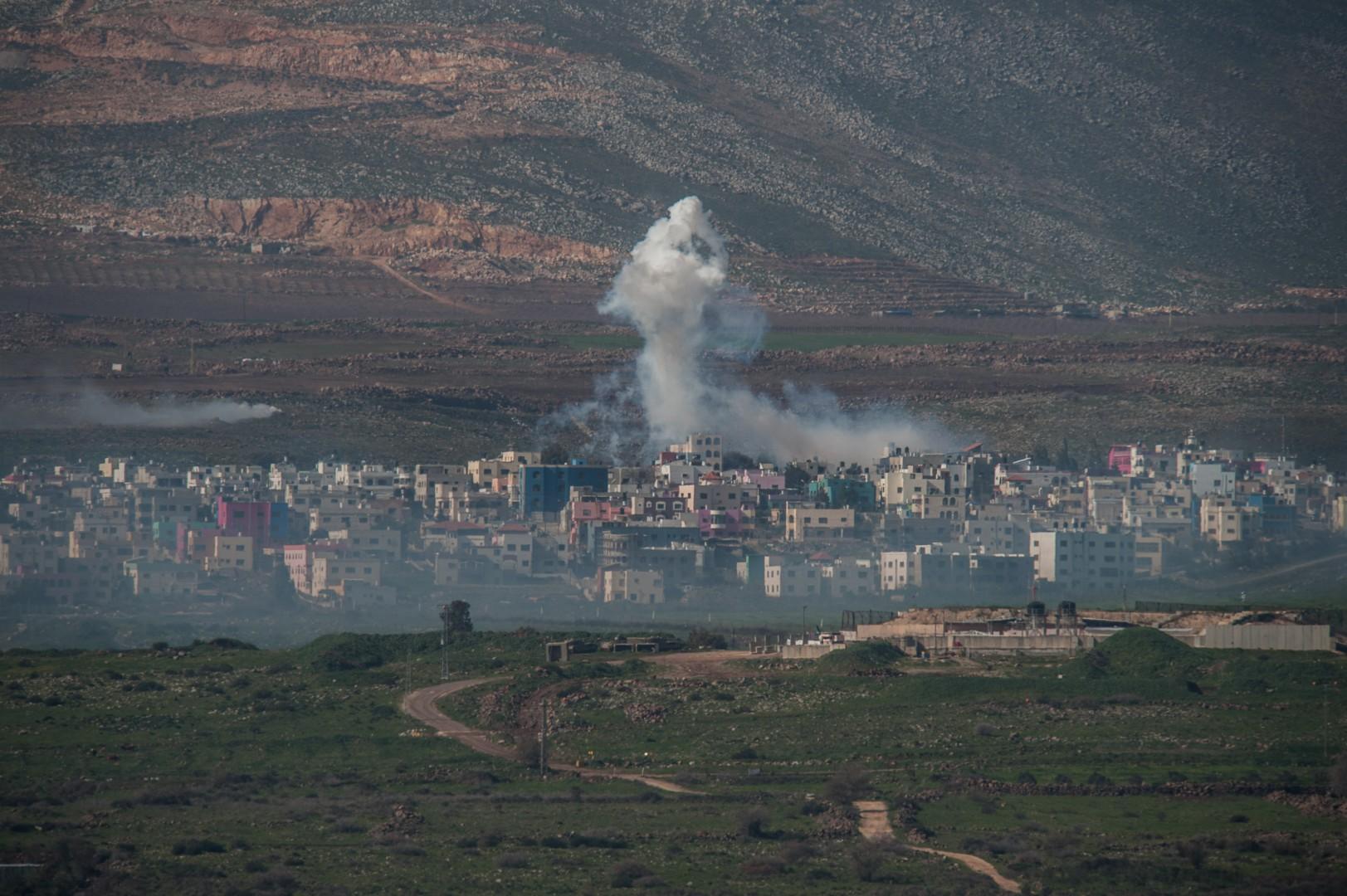 Raid israeliano in Siria (LaPresse)\