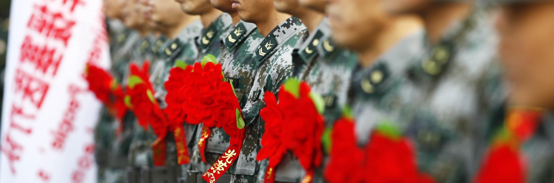 La prima linea del fronte <br> tra la Cina e il Giappone