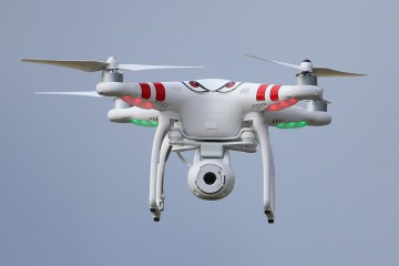 File photo dated 09/05/14 of a drone. Britain is at risk of terrorist attacks from drones, a leading designer has warned. Dr Stephen Prior said that Isis had already used drones in Iraq and Syria and was surprised terrorists had not tried to do the same in Britain. PRESS ASSOCIATION Photo. Issue date: Sunday June 10, 2018. See PA story SCIENCE Drones. Photo credit should read: Niall Carson/PA Wire