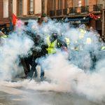 La lotta per accaparrarsi <br> la protesta dei gilet gialli