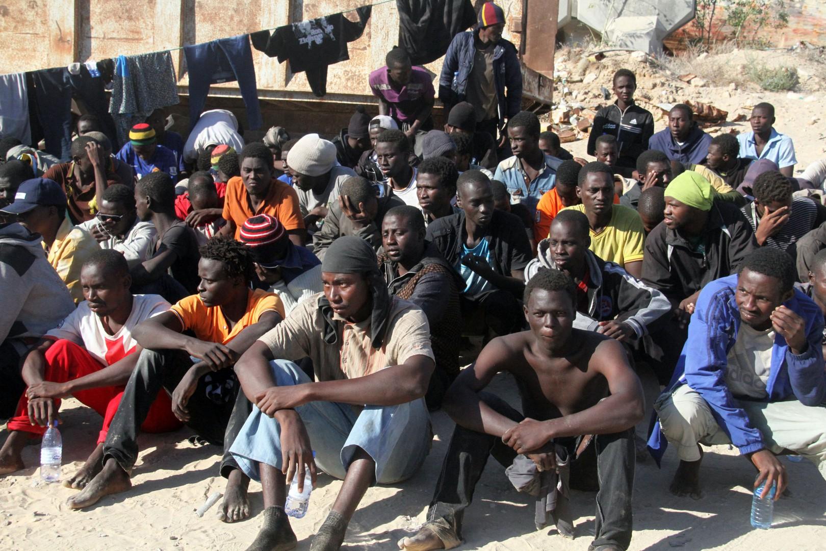 Migranti a Garabulli