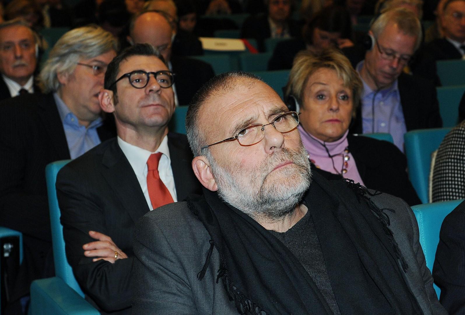 Padre Paolo Dall'Oglio, il gesuita italiano che sarebbe stato rapito in Siria in una foto d'archivio del 13 dicembre 2012,Torino,30 luglio 2013 ANSA/ ALESSANDRO DI MARCO