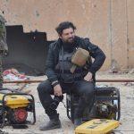 """""""Io e Gabriele sotto le bombe <br> per raccontare la fine di Isis"""""""