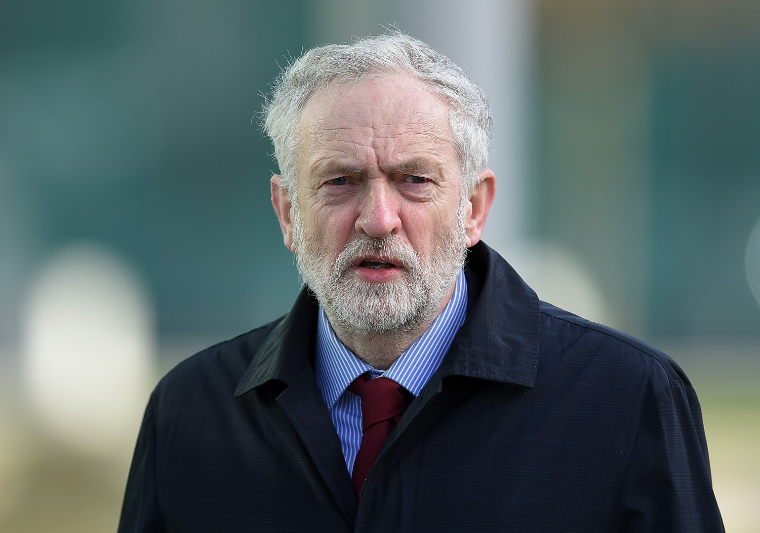 """Embargoed to 1800 Thursday February 18  File photo dated 18/02/16 of Labour leader Jeremy Corbyn, who has said that David Cameron's demands for European Union reform are a """"theatrical sideshow"""" and Labour will campaign to retain ties with Brussels whatever the outcome of the process. PRESS ASSOCIATION Photo. Issue date: Thursday February 18, 2016. The Labour leader, addressing a meeting of the Party of European Socialists in Brussels, said the Prime Minister's renegotiation agenda was a """"missed opportunity"""" to make the EU better for workers. See PA story POLITICS EU. Photo credit should read: Peter Powell/PA Wire"""