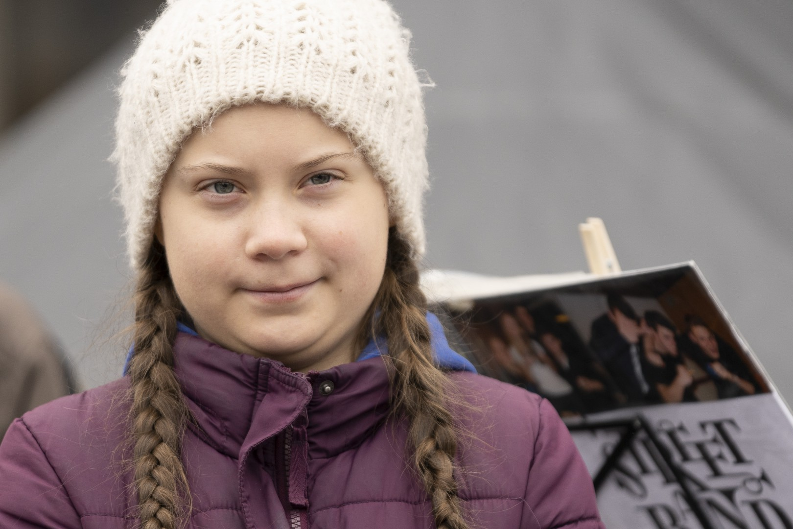 Fridays for Future - Swedish climate activist Greta Thunberg attends rally in Hamburg Germany, March 1, 2019. LaPresse Only italy ddp_09829344 *** Local Caption *** 10139323