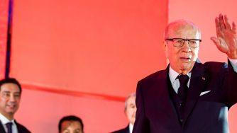 Il presidente tunisino Beji Caid Essebsi, morto il 25 luglio 2019