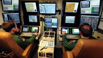 Piloti di droni dell'aviazione britannica (LaPresse)