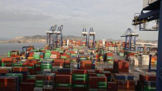 Grecia, porto del Pireo